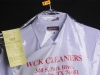 WCK Cleaners shirt ready for pickup